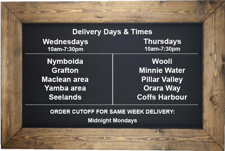 Deosa ChalkboardDeliveryTimes - Delivery & Returns